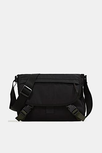 Messenger bag made of robust woven fabric