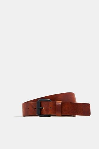 Belt in robust cowhide