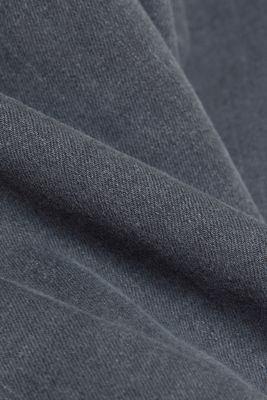 High-rise jeans with organic cotton, GREY MEDIUM WASH, detail