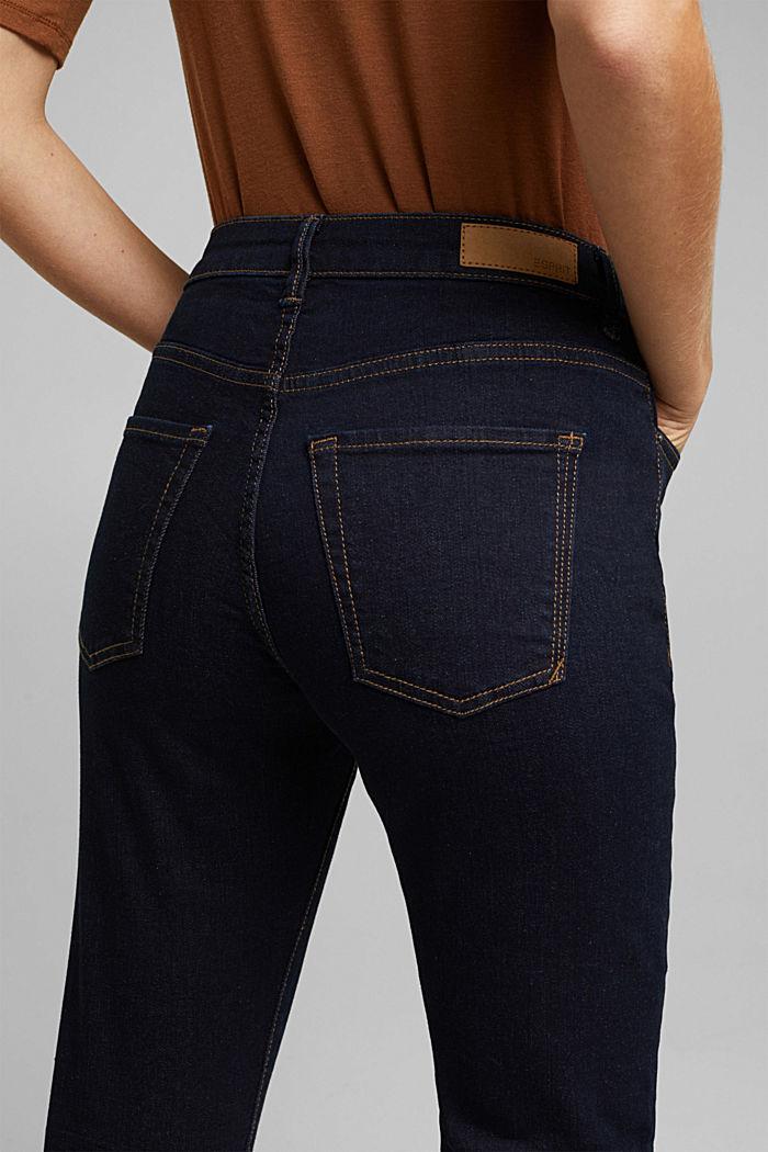 High-Waist-Jeans mit Bio-Baumwolle, BLUE RINSE, detail image number 2