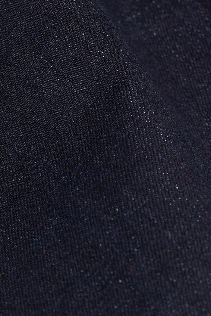 High-Waist-Jeans mit Bio-Baumwolle, BLUE RINSE, detail image number 4