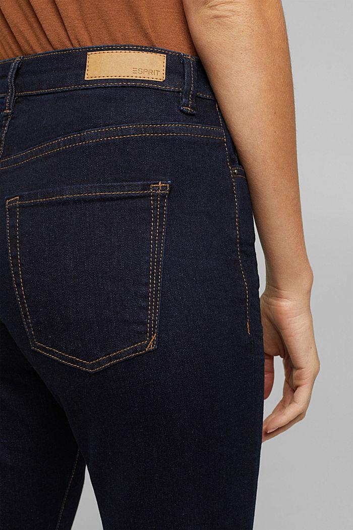 High-Waist-Jeans mit Bio-Baumwolle, BLUE RINSE, detail image number 5