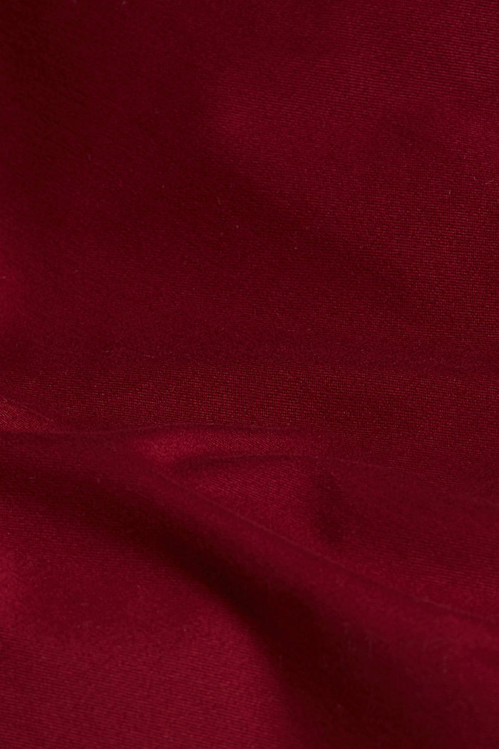 Chino mit Organic Cotton, BORDEAUX RED, detail image number 4