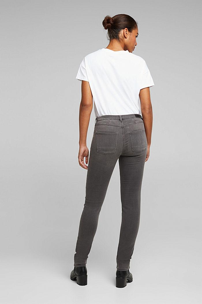 Jeans in softer Jogger-Qualität, GREY MEDIUM WASHED, detail image number 3