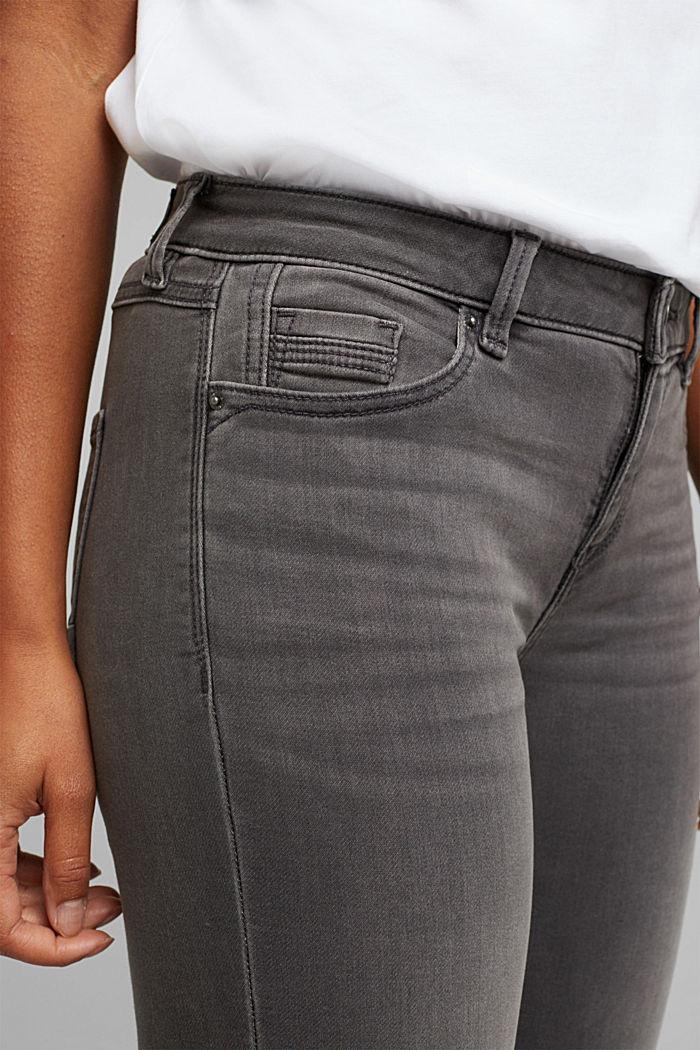 Jeans in softer Jogger-Qualität, GREY MEDIUM WASHED, detail image number 2