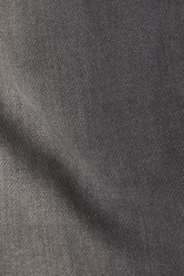 Jeans in soft tracksuit material, GREY MEDIUM WASH, detail