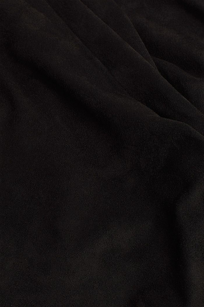 Recycled: Faux suede treggings, BLACK, detail image number 4