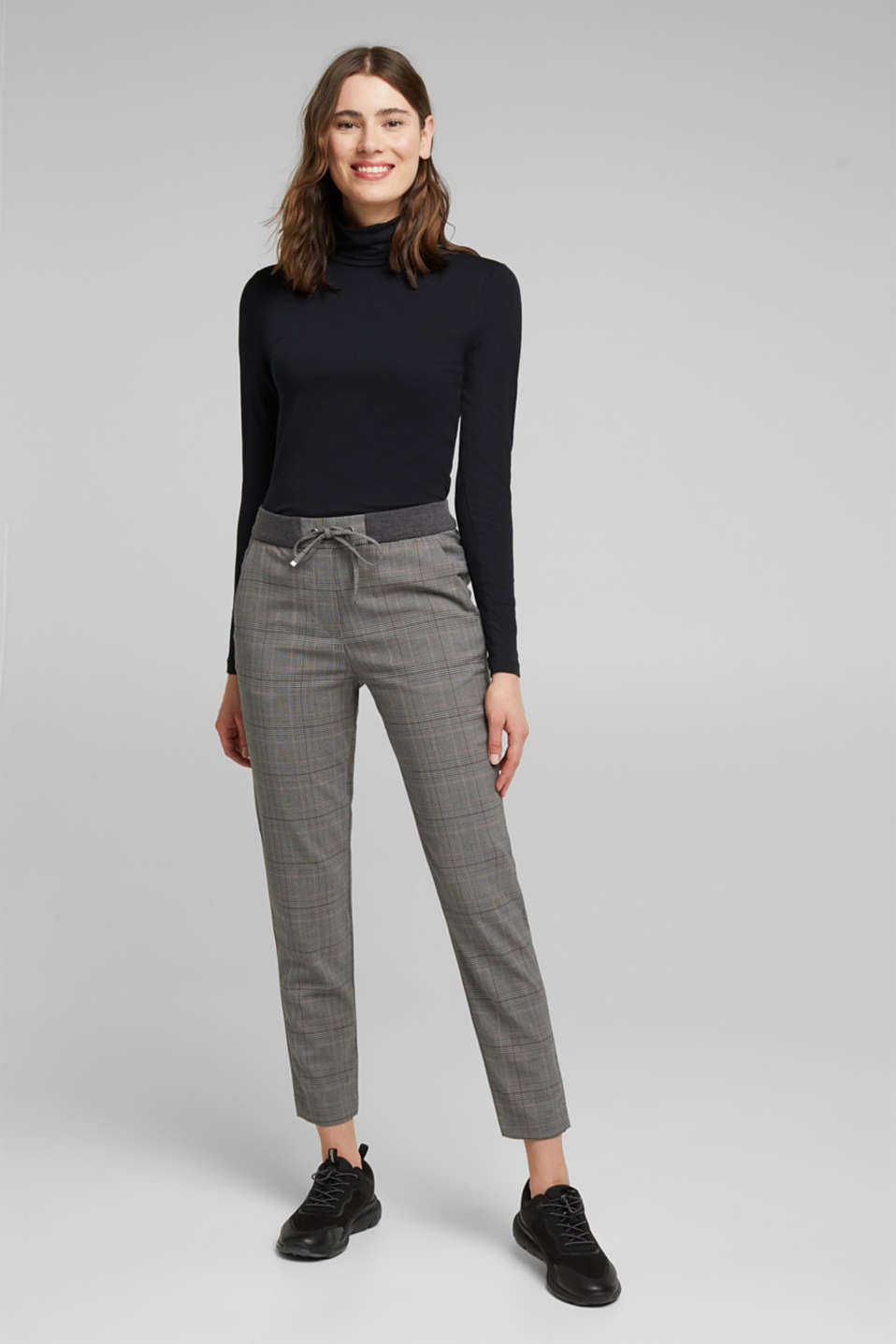 Esprit - Pantalon stretch de style jogging