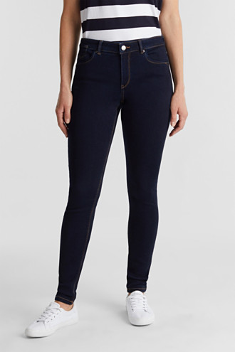 Super stretch jeans with organic cotton