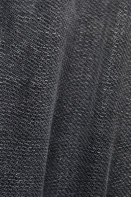 Washed-out jeans, organic cotton, GREY MEDIUM WASH, detail
