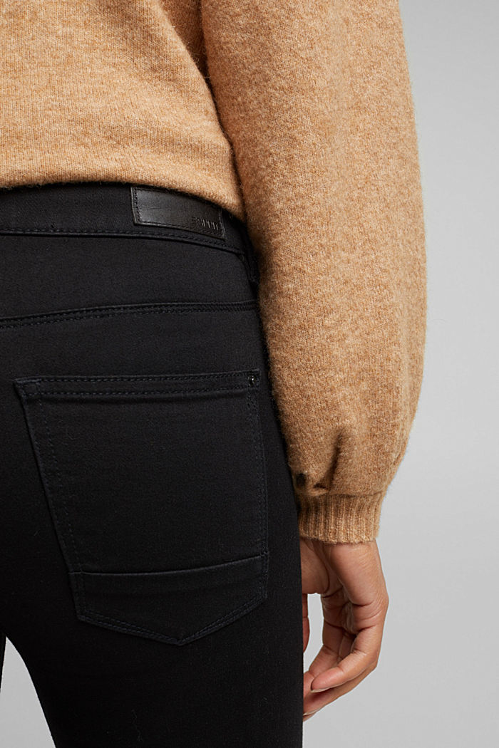Skinny Jeans mit Superstretch, BLACK RINSE, detail image number 2
