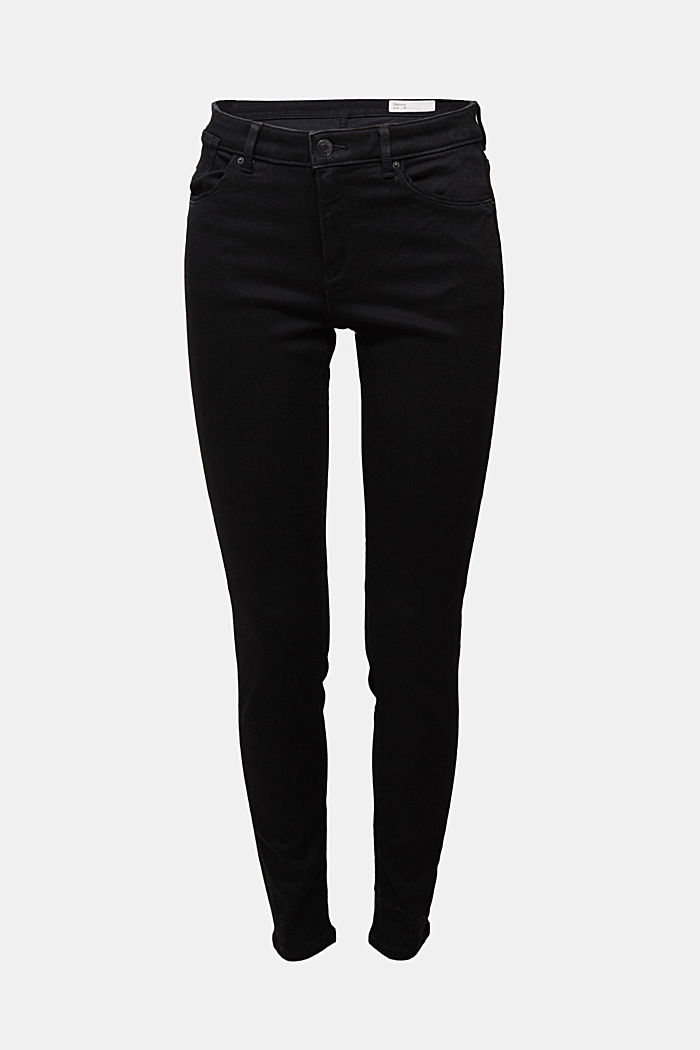 Skinny Jeans mit Superstretch, BLACK RINSE, detail image number 6