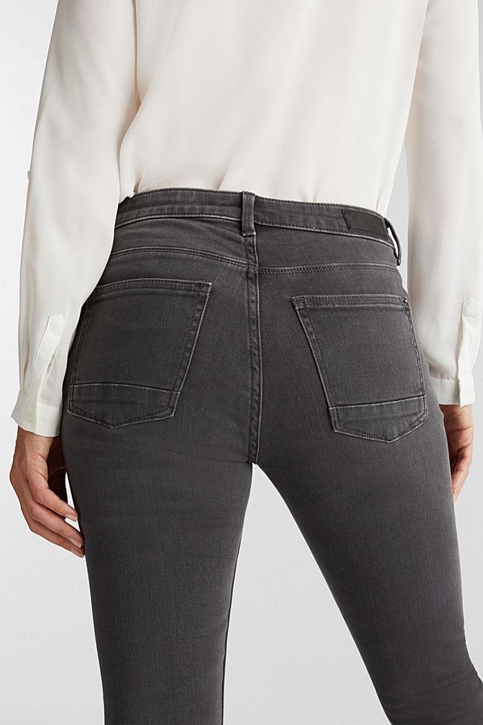 Super stretch skinny jeans, GREY DARK WASHED, detail image number 2