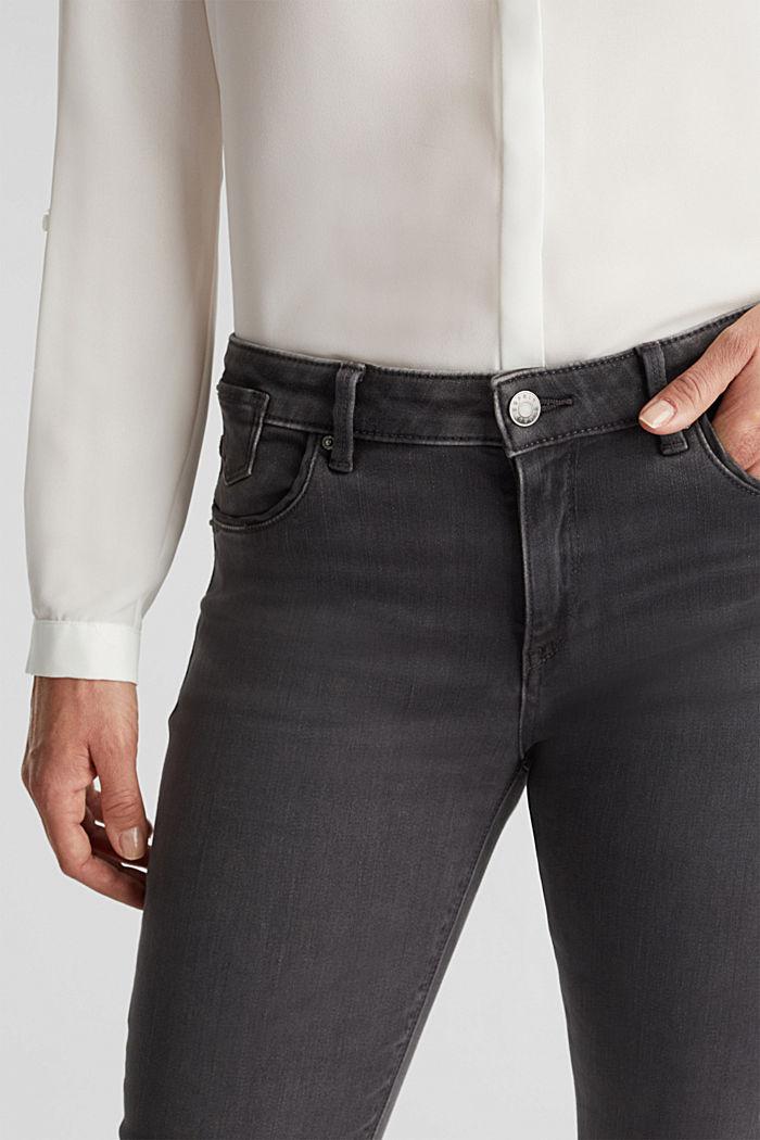 Super stretch skinny jeans, GREY DARK WASHED, detail image number 5