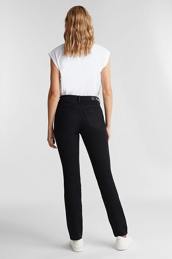 Tiefschwarze Organic Cotton-Jeans, BLACK RINSE, detail image number 3
