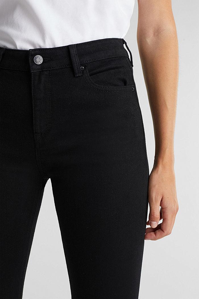 Tiefschwarze Organic Cotton-Jeans, BLACK RINSE, detail image number 2