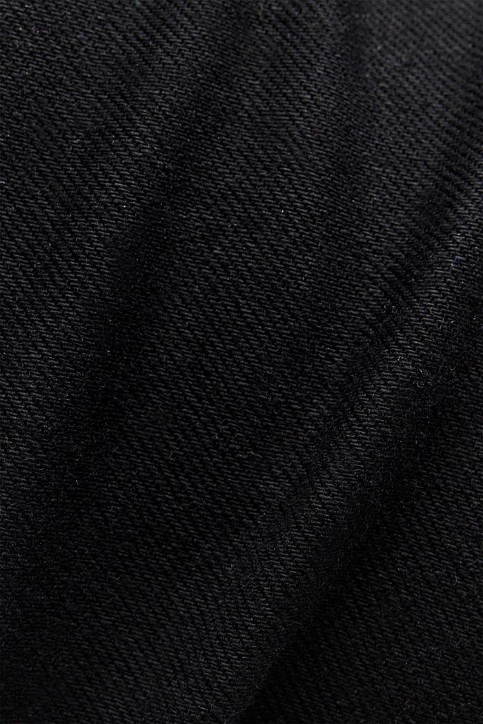 Tiefschwarze Organic Cotton-Jeans, BLACK RINSE, detail image number 4