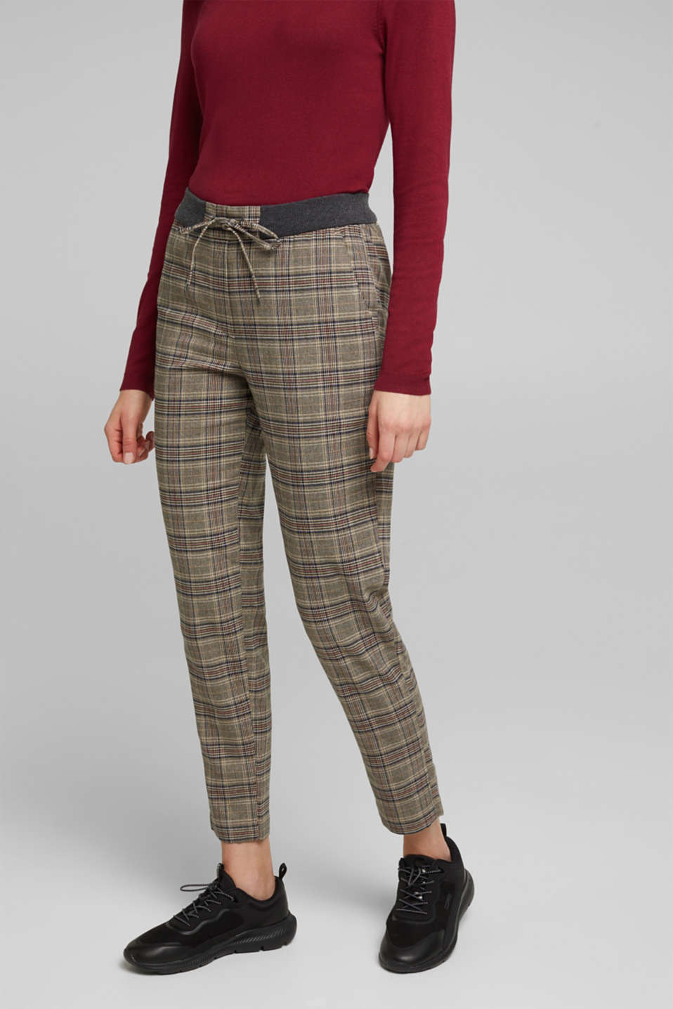 Esprit - CHECKS mix + match broek