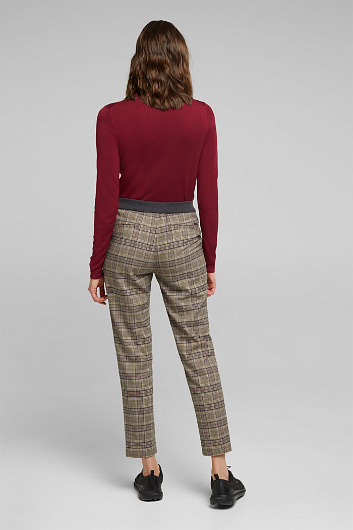 CHECKS mix + match trousers, CAMEL, detail image number 3