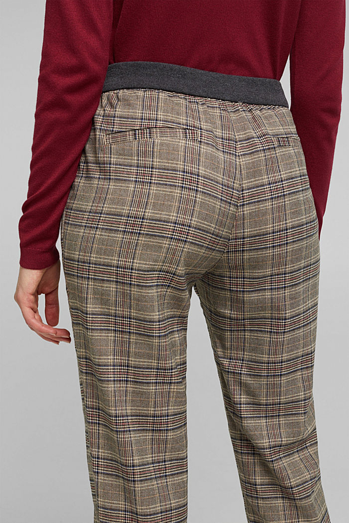 CHECKS mix + match trousers, CAMEL, detail image number 2