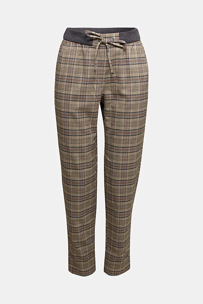 CHECKS mix + match trousers, CAMEL, detail image number 6