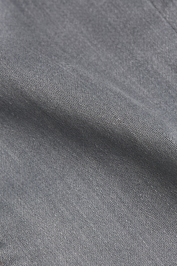Skinny Jeans mit Kaschmir-Touch, GREY MEDIUM WASHED, detail image number 4