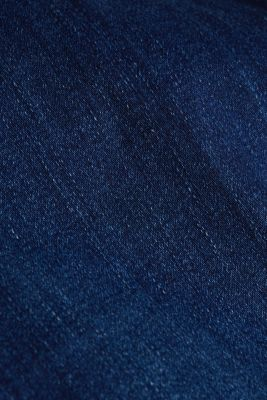 CURVY jeans with a touch of cashmere, BLUE DARK WASH, detail