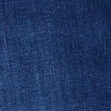 CURVY jeans with a touch of cashmere, BLUE DARK WASH, swatch