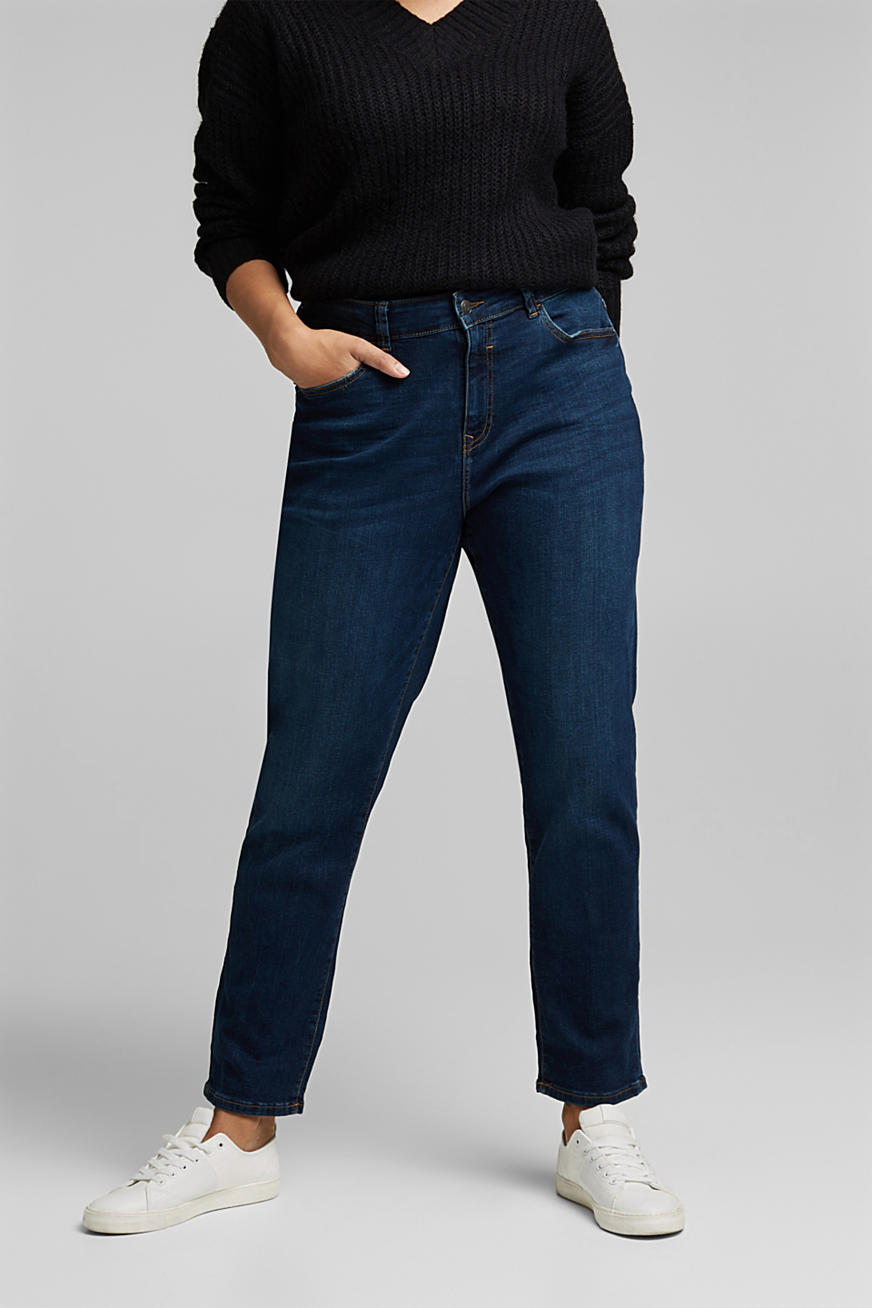 CURVY stretch jeans, organic cotton