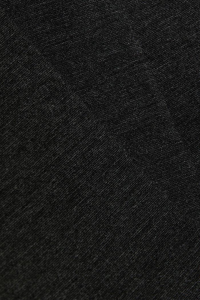 Punto jersey chinos, DARK GREY, detail image number 4