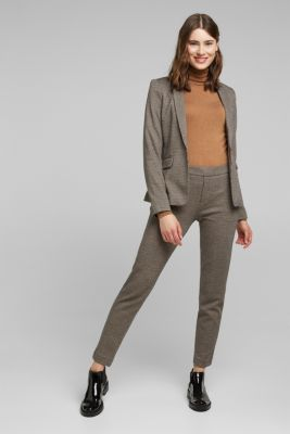 HOUNDSTOOTH Mix + Match trousers, CAMEL, detail