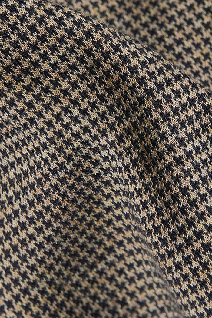 HOUNDSTOOTH Mix + Match trousers, CAMEL, detail image number 4