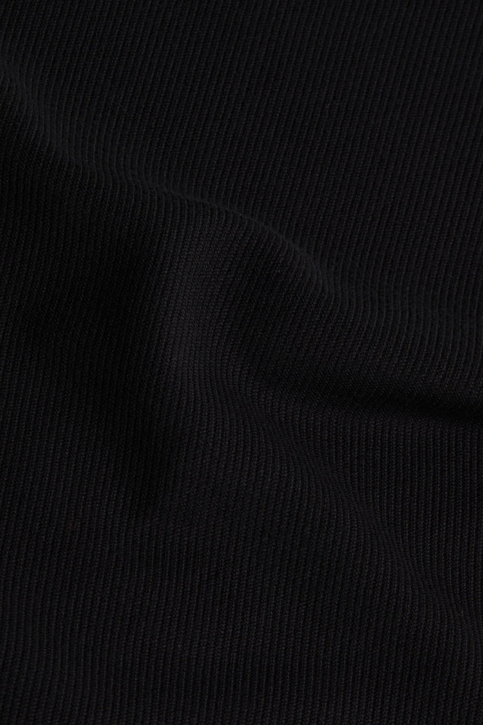Jersey-Kleid mit Stretchkomfort, BLACK, detail image number 3