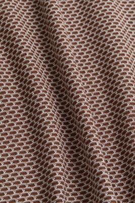 Jacquard knitted dress, BROWN 4, detail