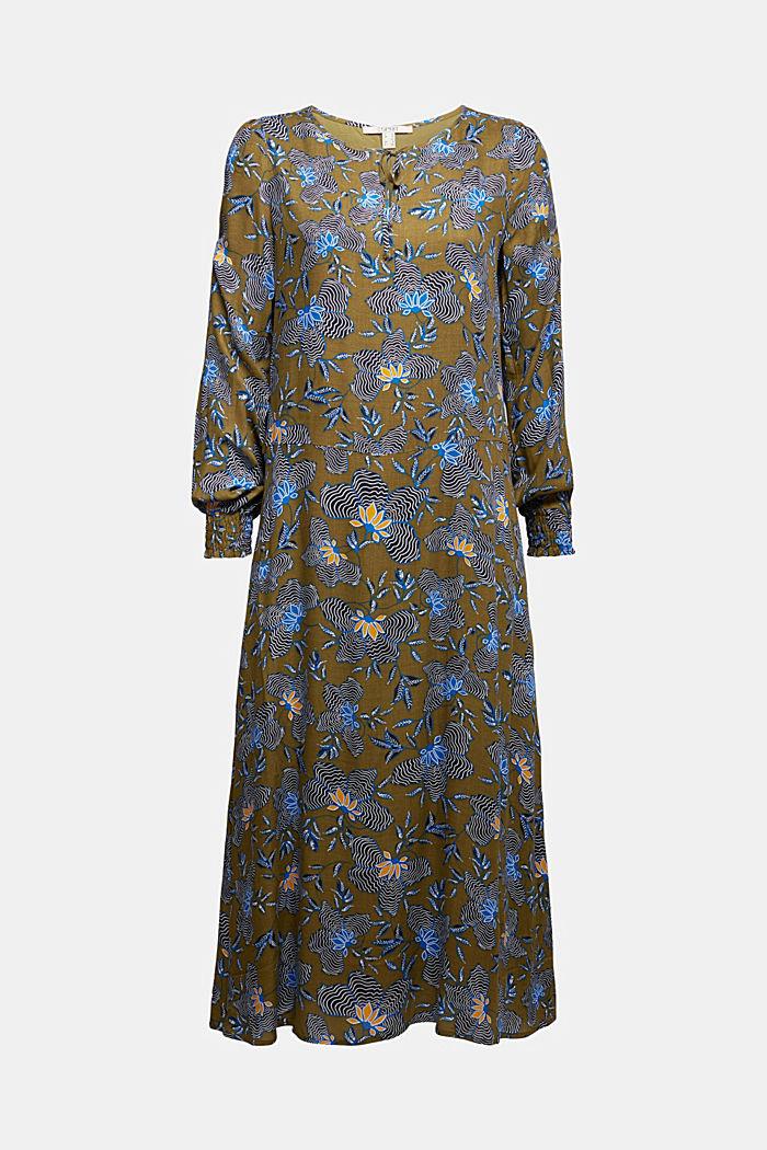 Crêpe dress made of LENZING™ ECOVERO™