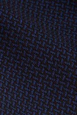 Patterned jersey dress, DARK BLUE, detail