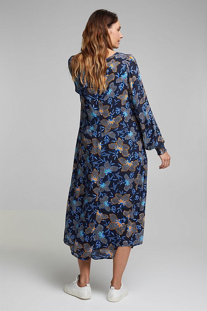 CURVY Kleid aus LENZING™ ECOVERO™, NAVY, detail image number 2