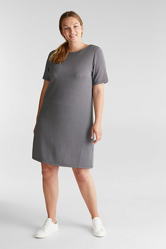 CURVY jersey dress with stretch for comfort