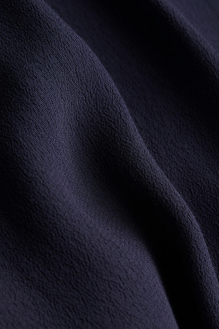 Shirt dress made of LENZING™ ECOVERO™, NAVY, detail image number 4