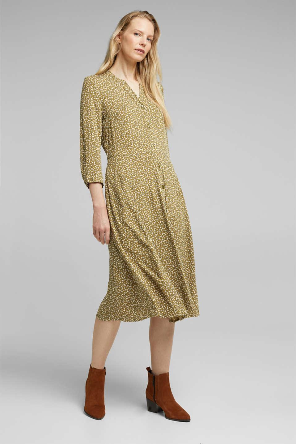 Esprit - Millefleurs-Kleid aus LENZING™ ECOVERO™ im Online ...