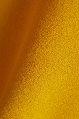 Blouse top made of LENZING™ ECOVERO™, BRASS YELLOW, detail