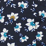 Blouse made from LENZING™ ECOVERO™, NAVY, swatch