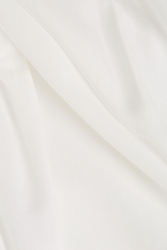 Bluse aus aus LENZING™ECOVERO™, OFF WHITE, detail image number 4