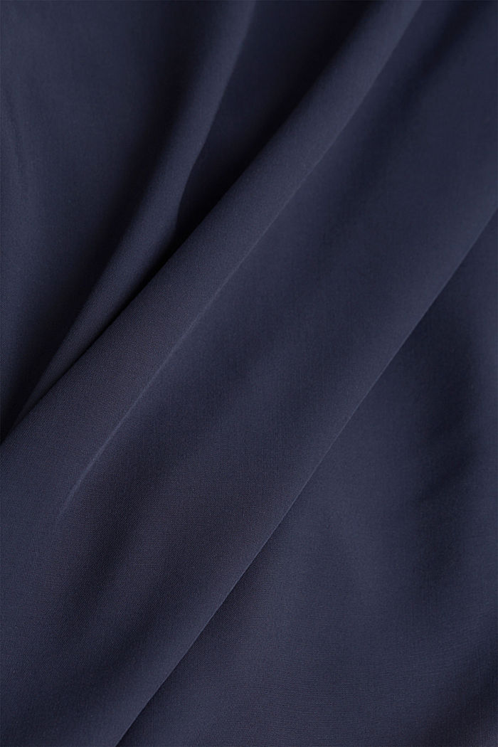Blouse made of LENZING™ ECOVERO™, NAVY, detail image number 4