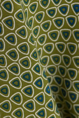 Henley blouse made of LENZING™ ECOVERO™, OLIVE 4, detail
