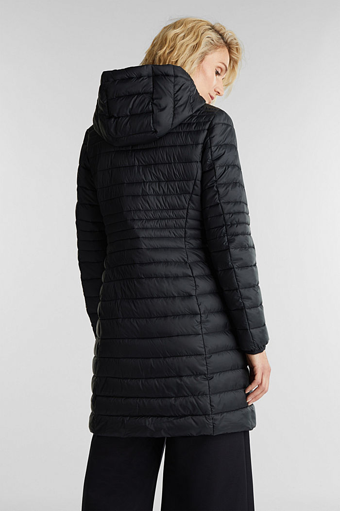 3M™ Thinsulate™ quilted coat, BLACK, detail image number 3