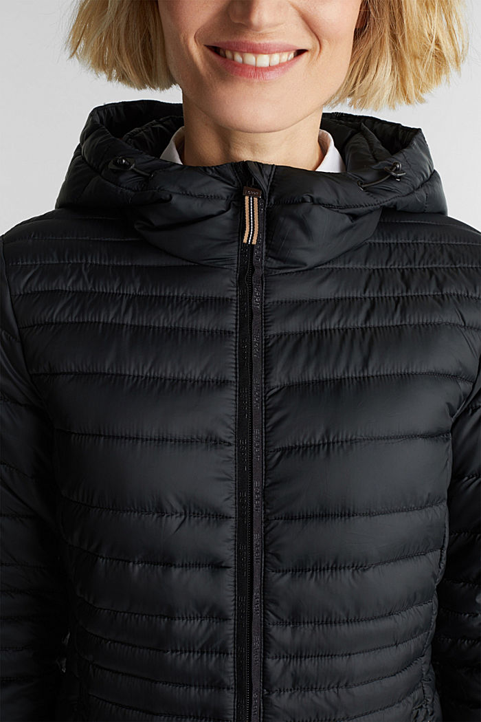 3M™ Thinsulate™ quilted coat, BLACK, detail image number 2