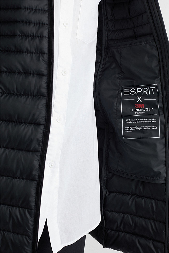 3M™ Thinsulate™ quilted coat, BLACK, detail image number 5
