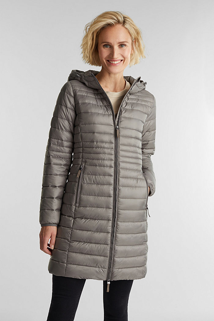 3M™ Thinsulate™ quilted coat, LIGHT GUNMETAL, detail image number 0