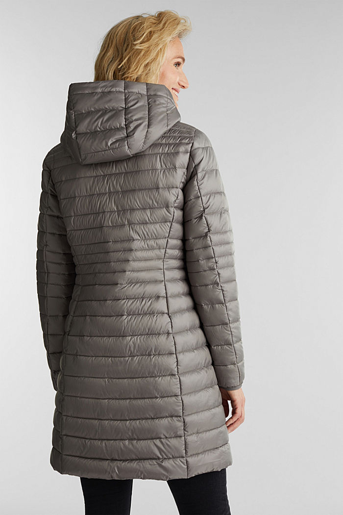 3M™ Thinsulate™ quilted coat, LIGHT GUNMETAL, detail image number 3